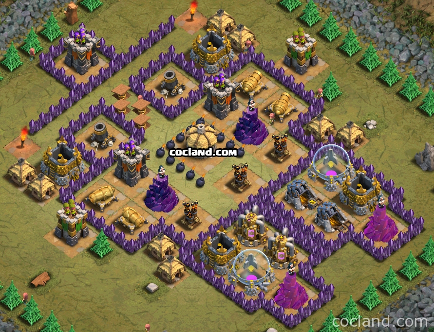 Megamansion and TH7 Troops