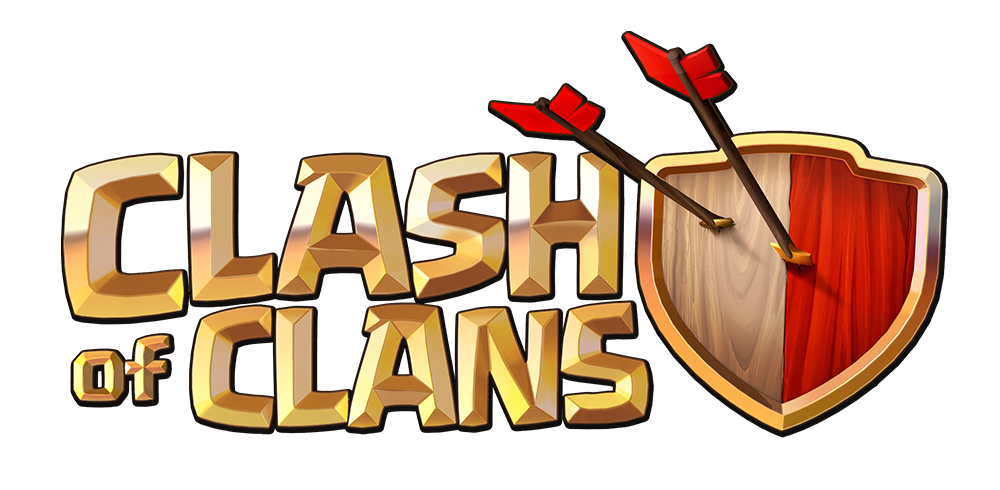 Clash Of Clans Logo And Icons Clash Of Clans Land
