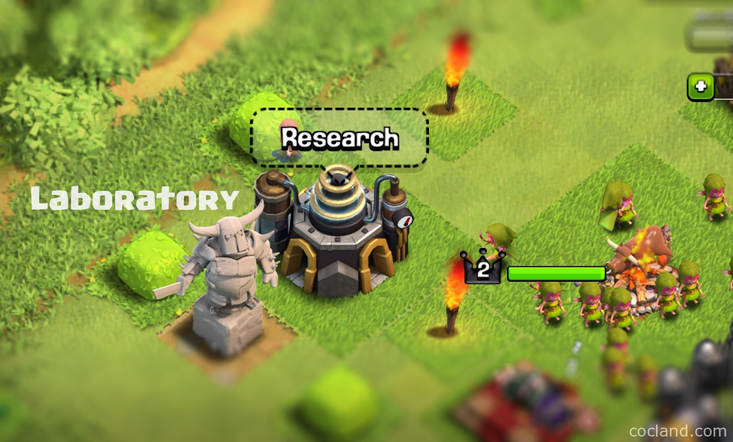 Everything about Laboratory in Clash of Clans
