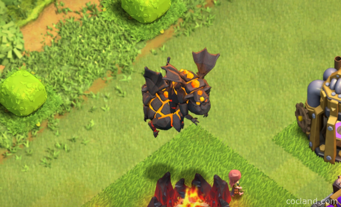 Clash of Clans Lava Hound