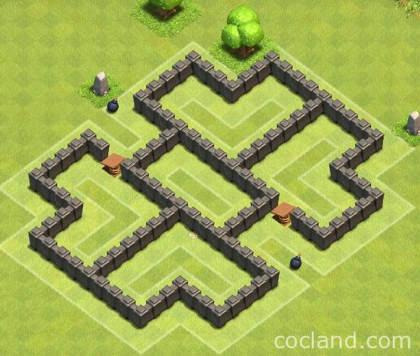 Clockwork: Farming Base Layout For TH5