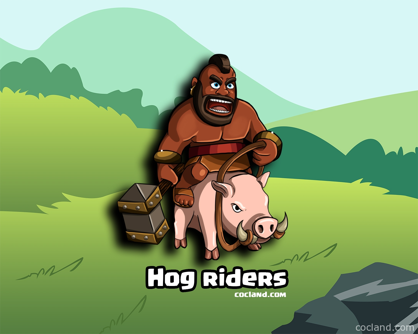 Clash of Clans Hog Rider