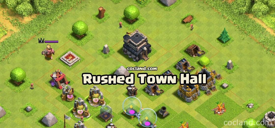 We all don't want to be a rushed Town Hall!