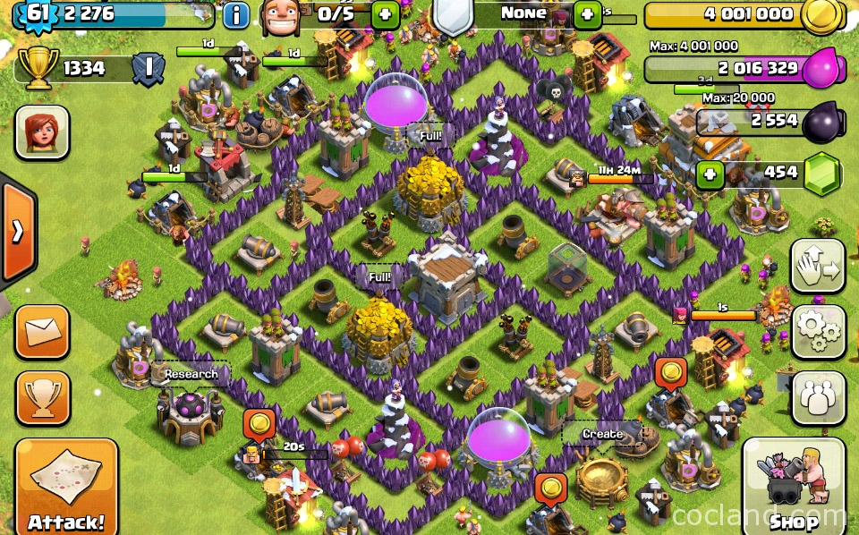 Spiral Farming Base for TH7