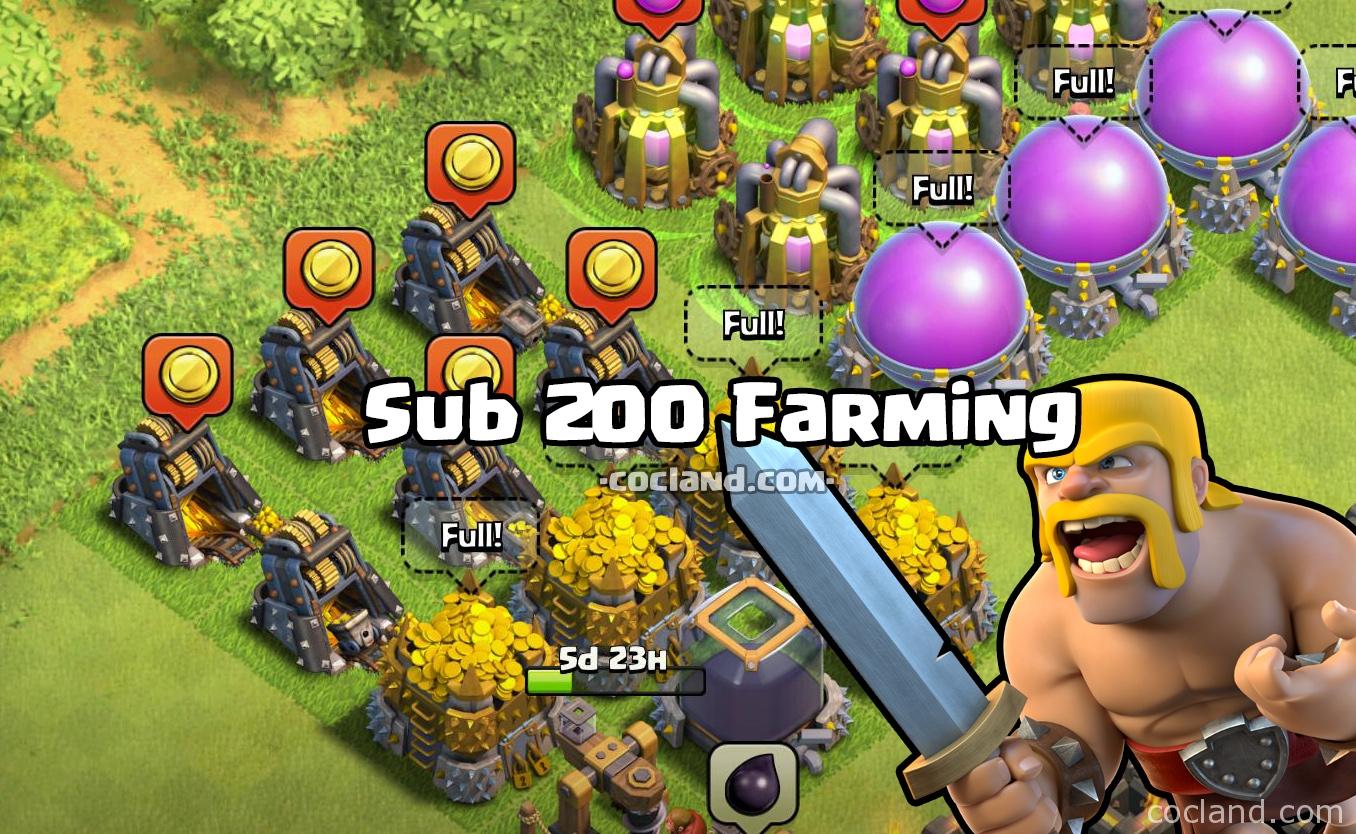 Sub 200 Farming Strategy