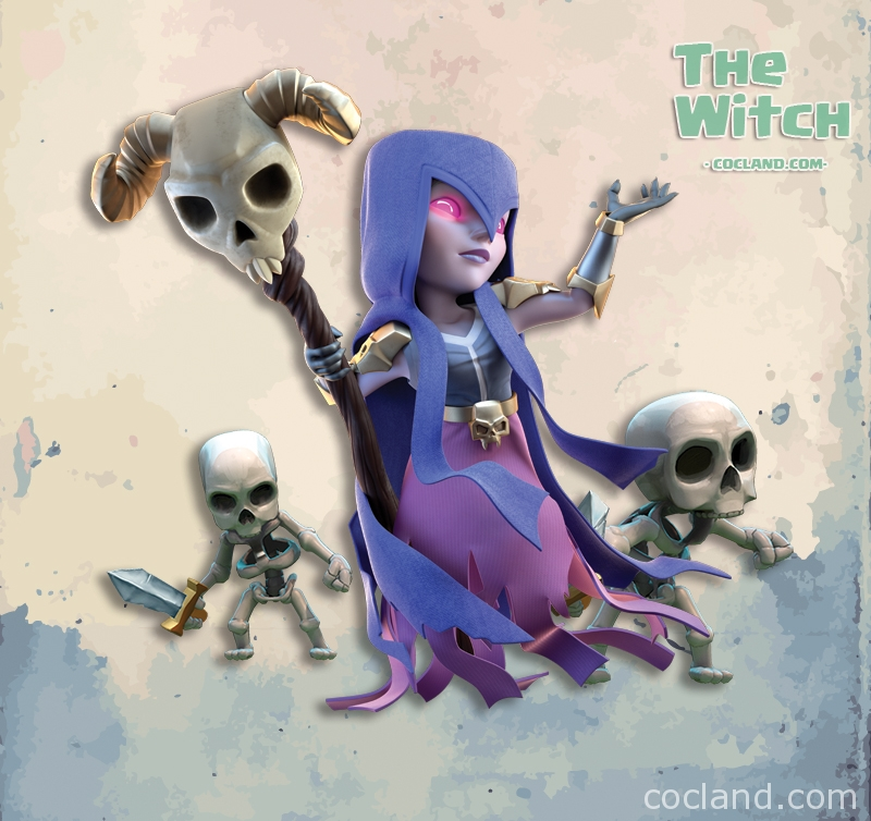 Witch Guide | Clash of Clans Land