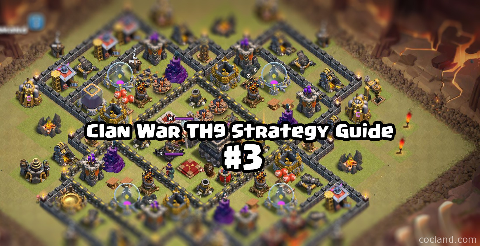 Clan War TH9 Strategy Guide
