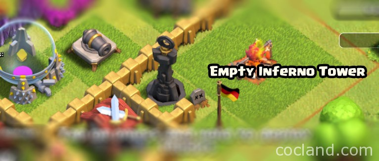 empty Inferno Tower