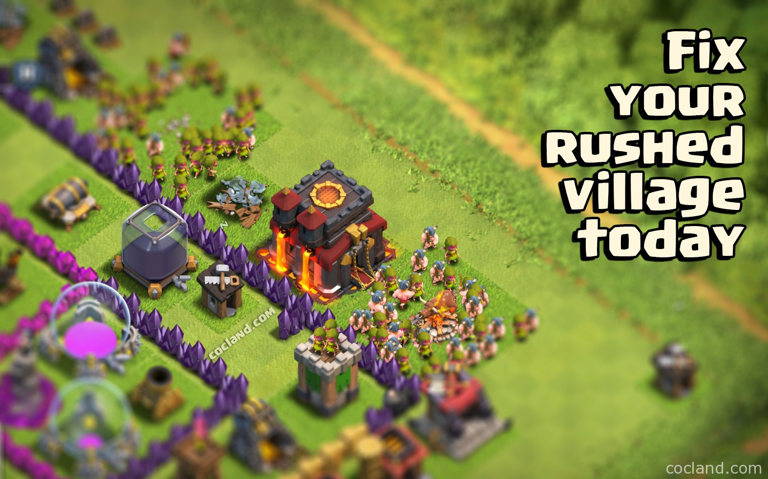 Fix Rushed Town Hall