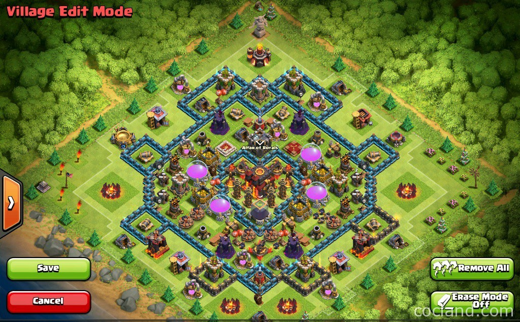 Heart of a Champion: TH10 War Base