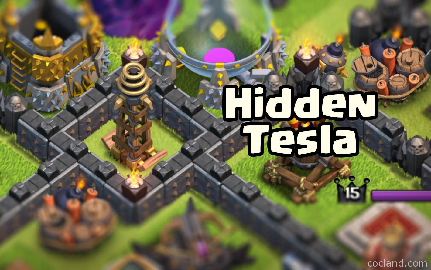 Hidden Tesla Clash of Clans