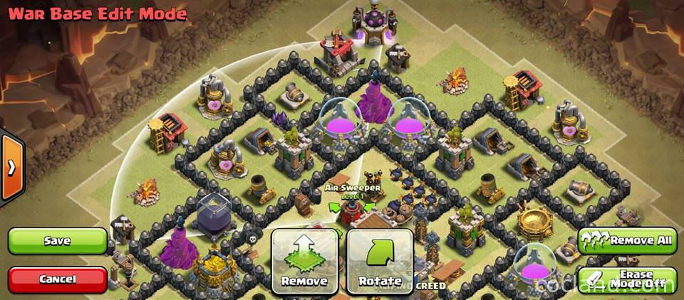 Th8 War Base Kyoukai - Anti Dragons