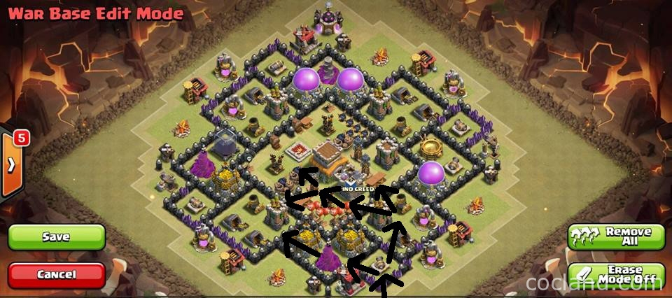 Th8 War Base Kyoukai - Anti Hogs
