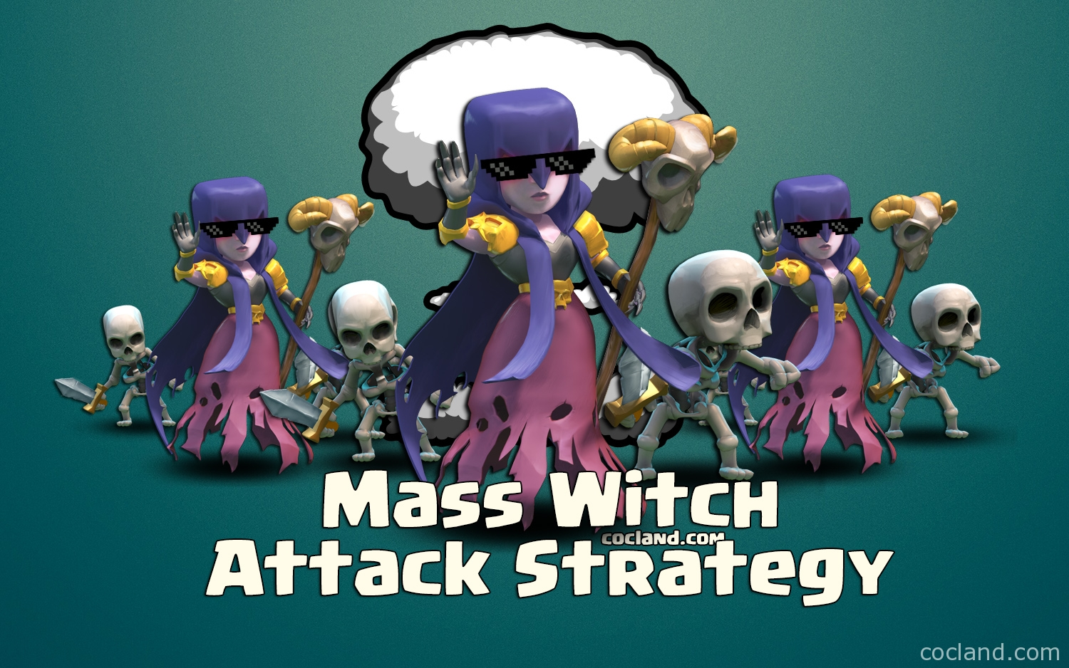 Mass Witch Attack Strategy