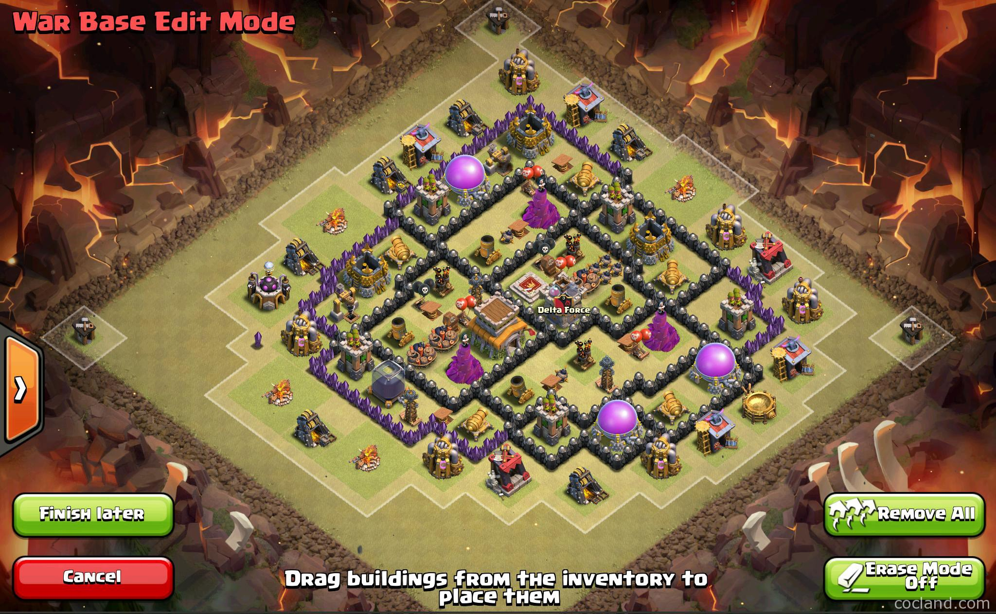 The Fates: Anti-3 Stars TH8 War Base