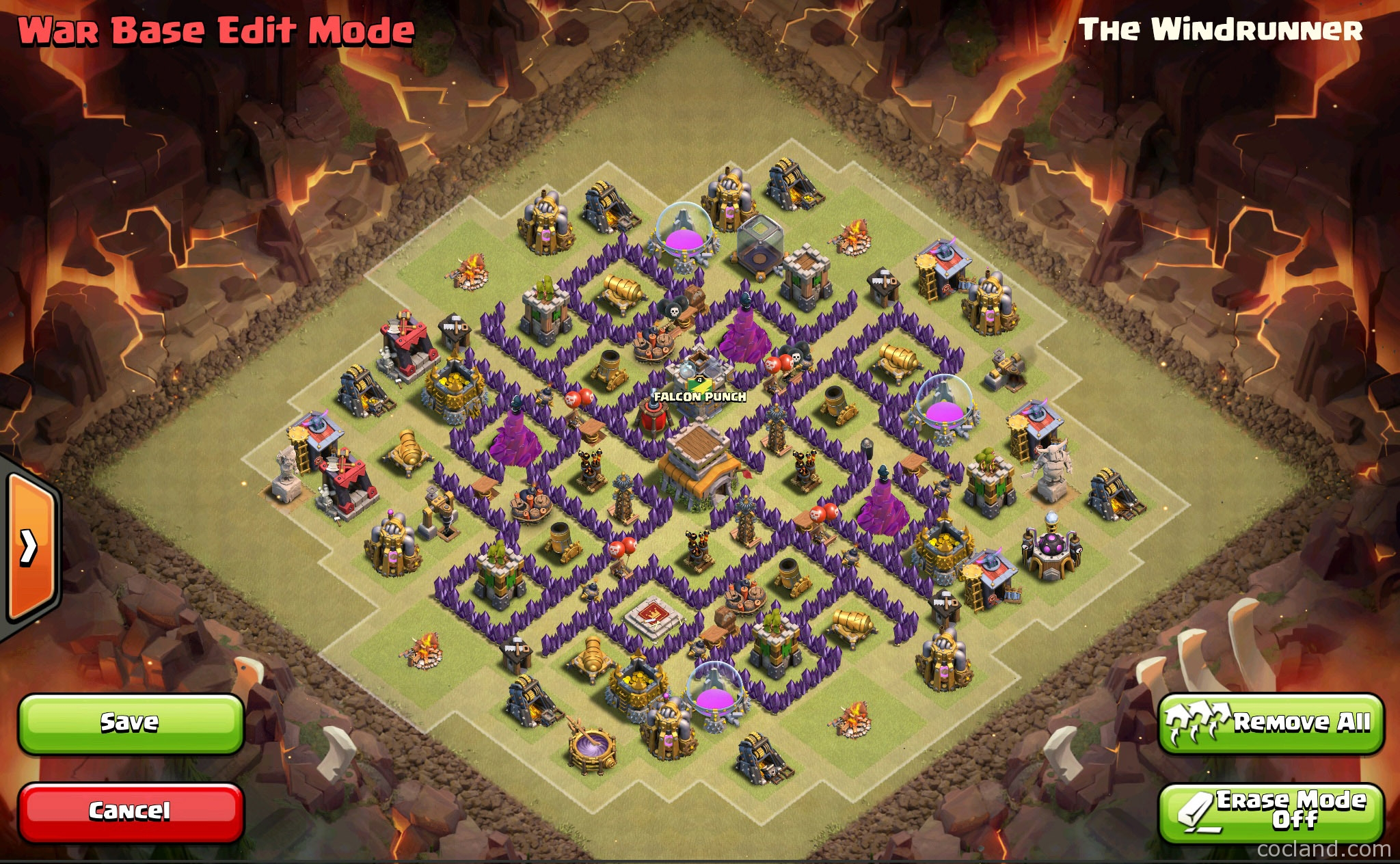 Coc Th 8 Hard Base 11