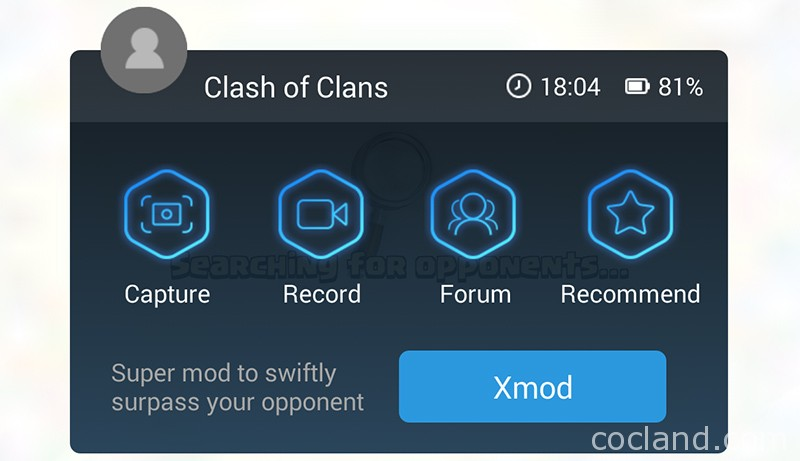 Xmod Screen In Game