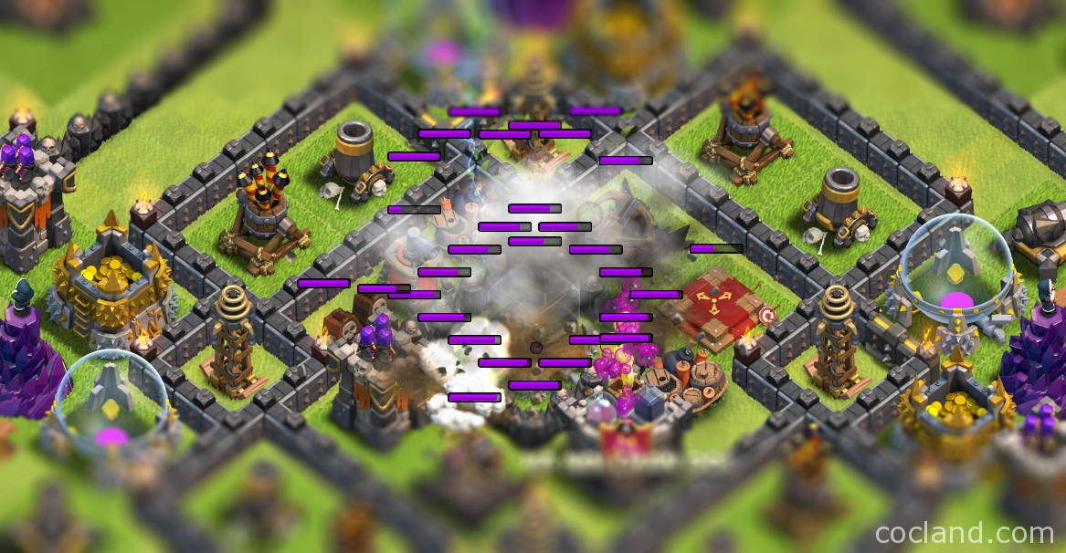 Zapping Dark Elixir in Clash of Clans