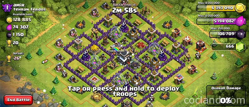 Another easy base with barch