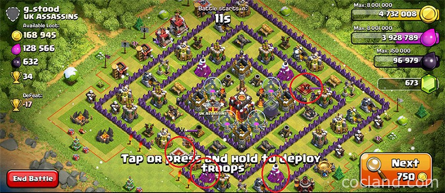 Don't attack this type of base with Barch