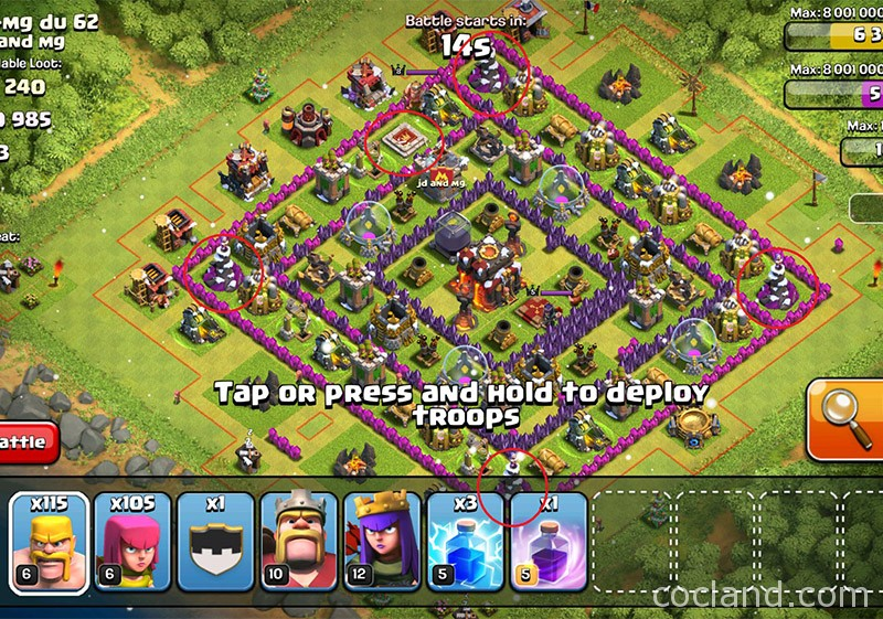 Don't attack this type of base with Barch too