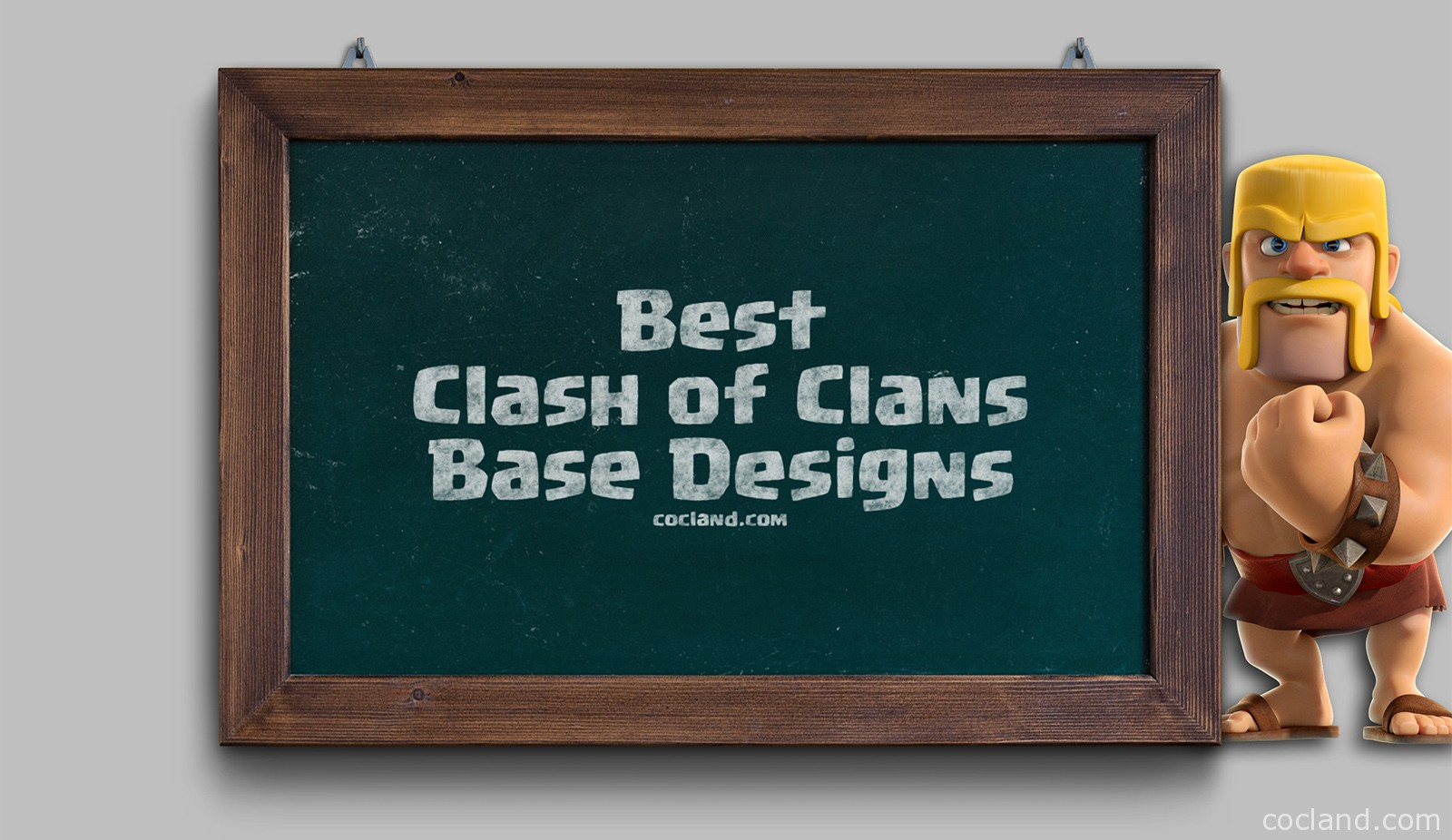 The best Clash of Clans Layouts