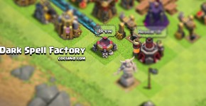 Dark Spell Factory in Clash of Clans