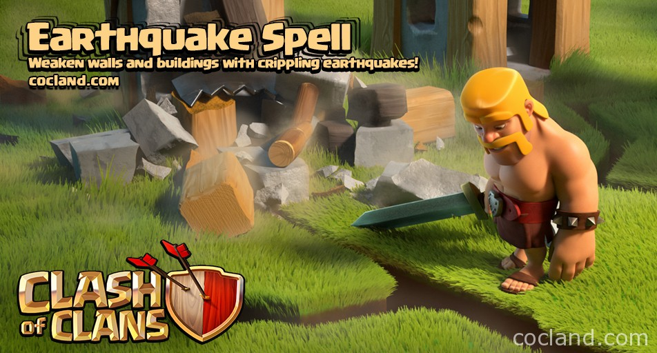 New Earthquake Spell