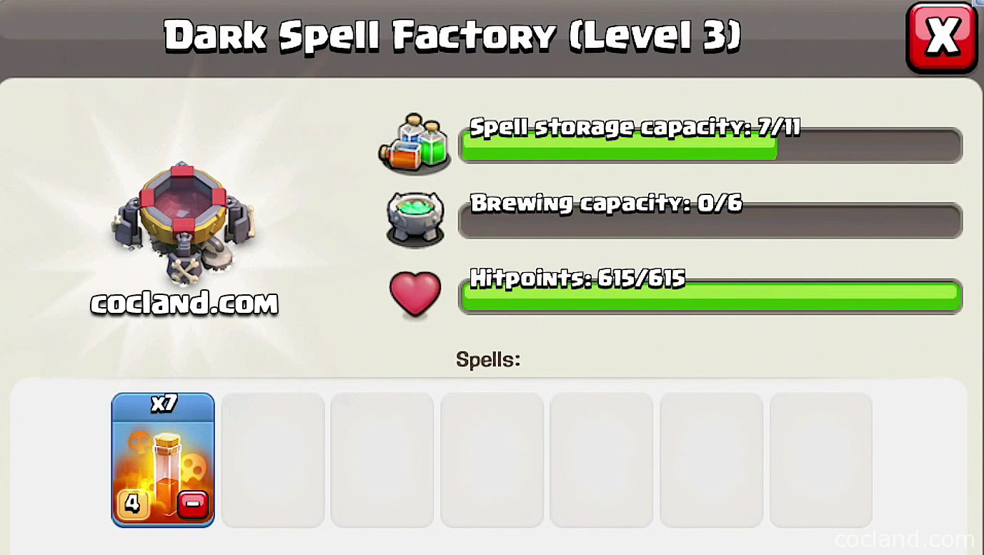 Dark Spell Factory and the new poison