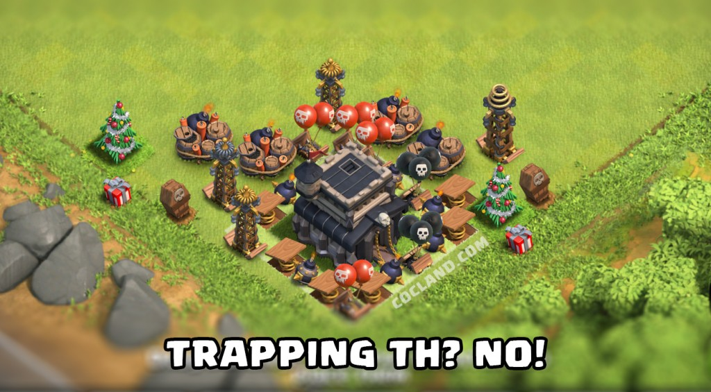 trapping-town-hall-clash-of-clans