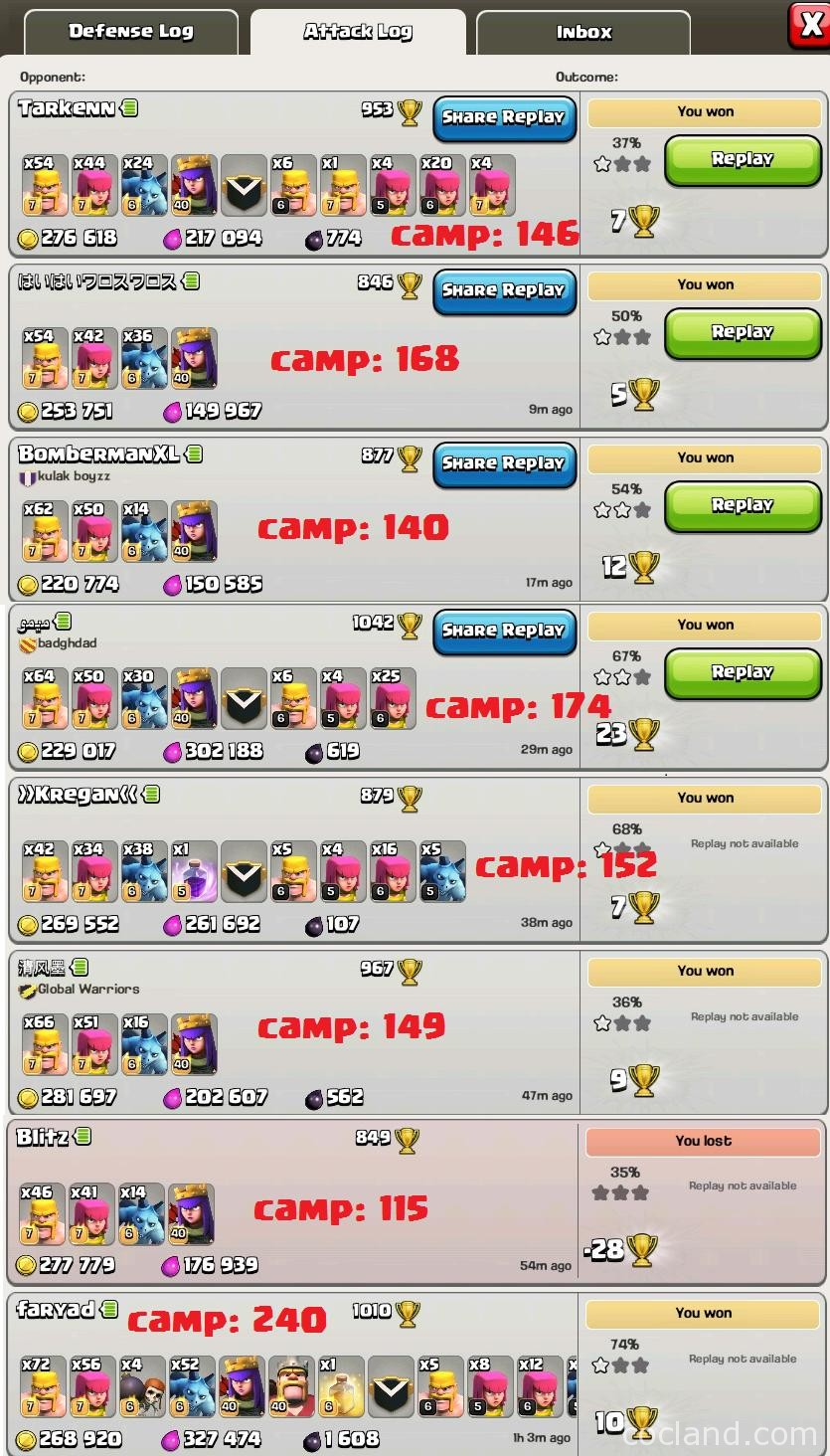 Stunning attack logs with BAM