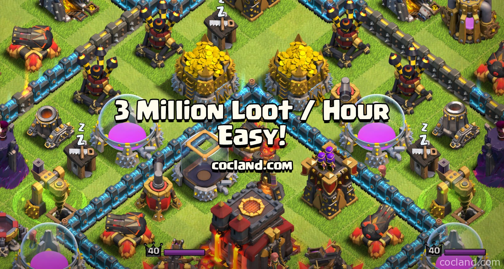 How to farm 3 Million loot per hour