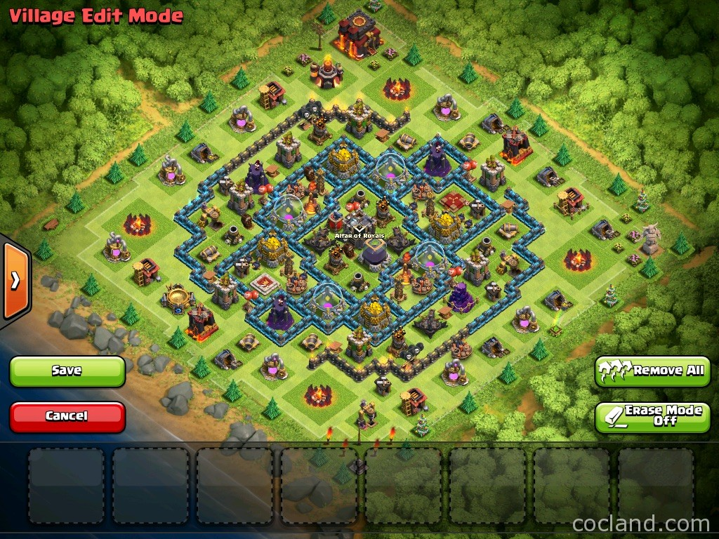 Crux Town Hall 10 Farming Layout