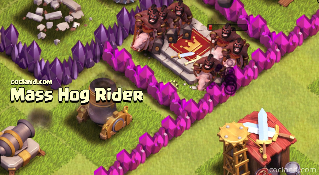 Mass Hog Rider Strategy