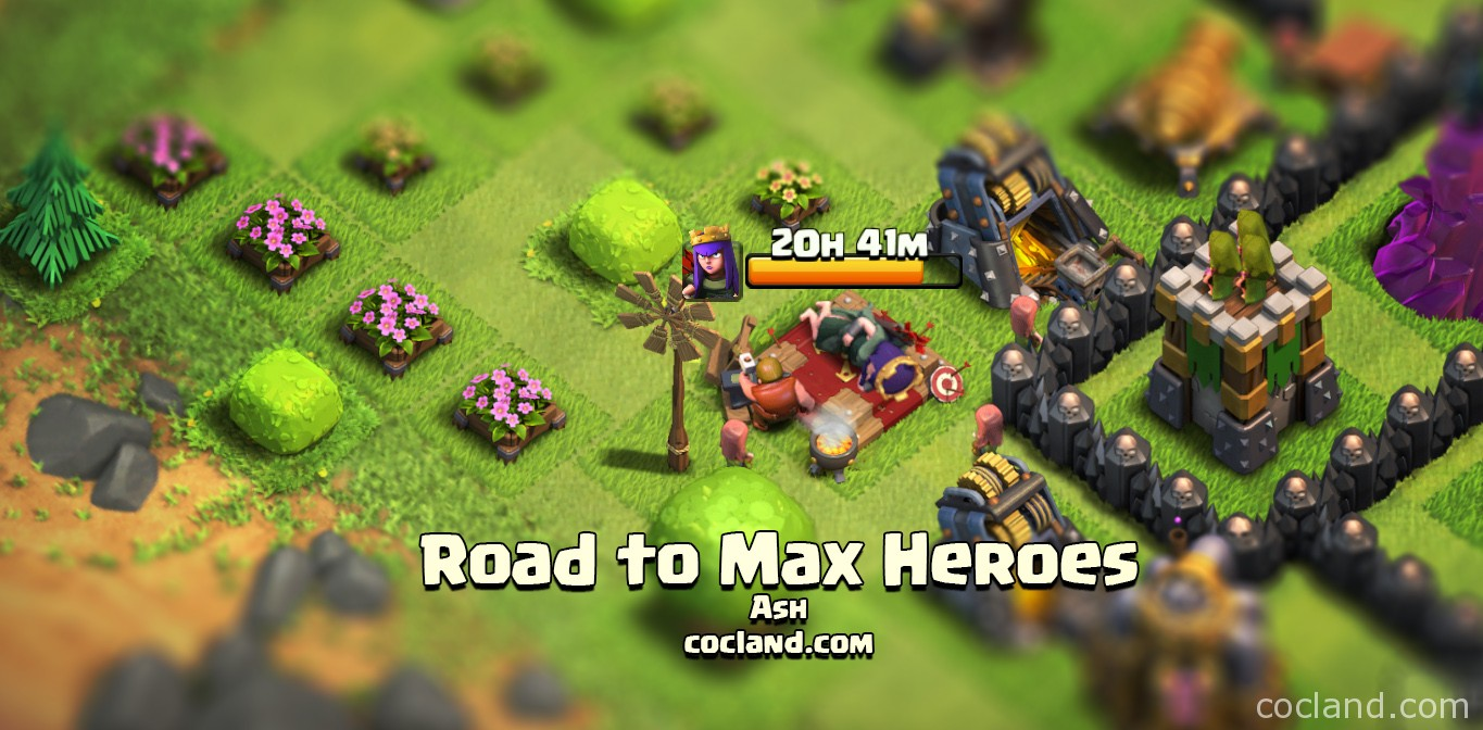 Road to max Heroes