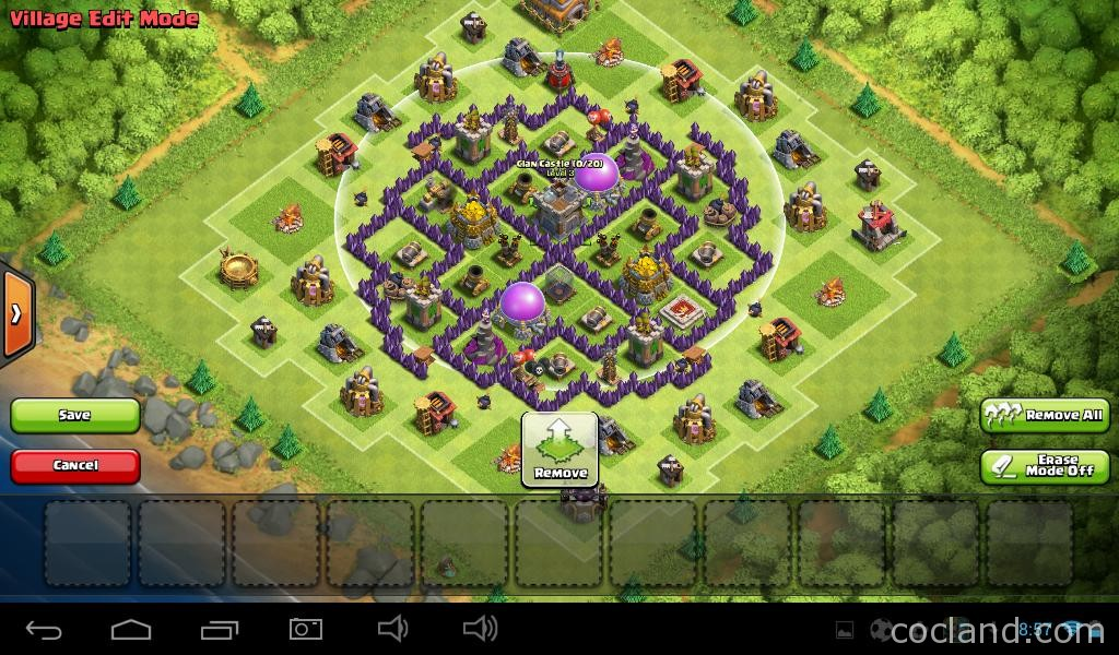 Clash Of Clans New Island