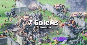 7 Golems Attack Strategy