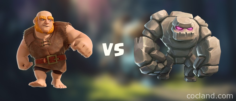 Giant vs Golem