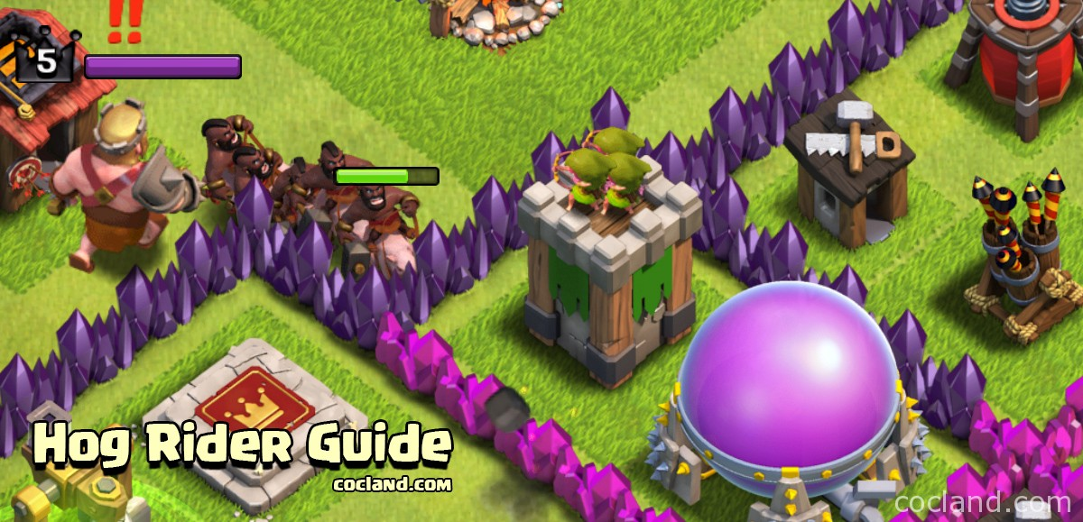 TH8 Hog Rider Guide