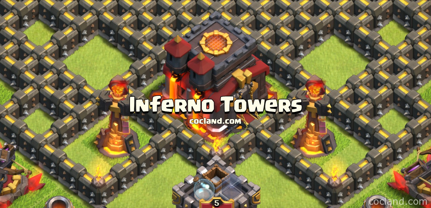Inferno Towers Town Hall 10