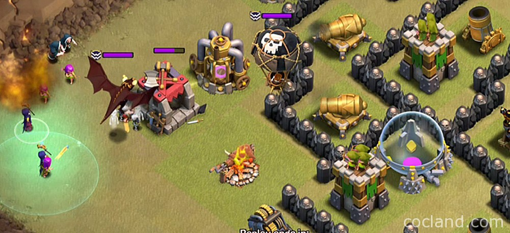 Clan Castle Troops in Hog Attacks