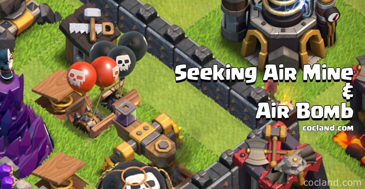 Seeking Air Mine and Air Bomb