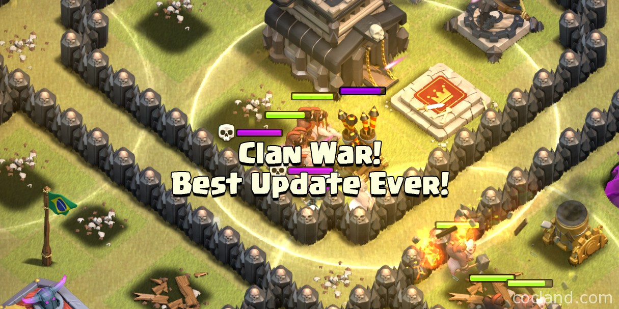 Clash of Clans Clan Wars Update