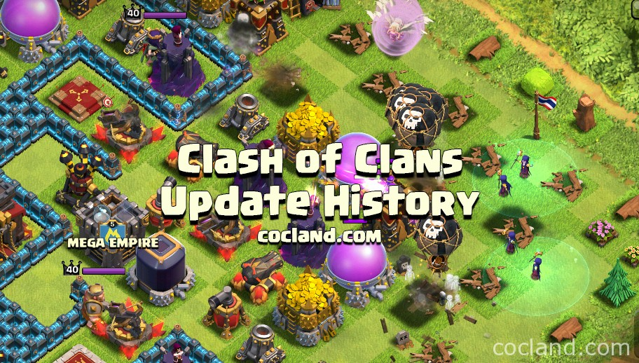 Clash of Clans Update History  CydiaPlus