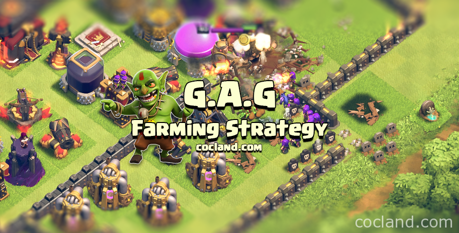 GAG Dark Elixir Farming Strategy