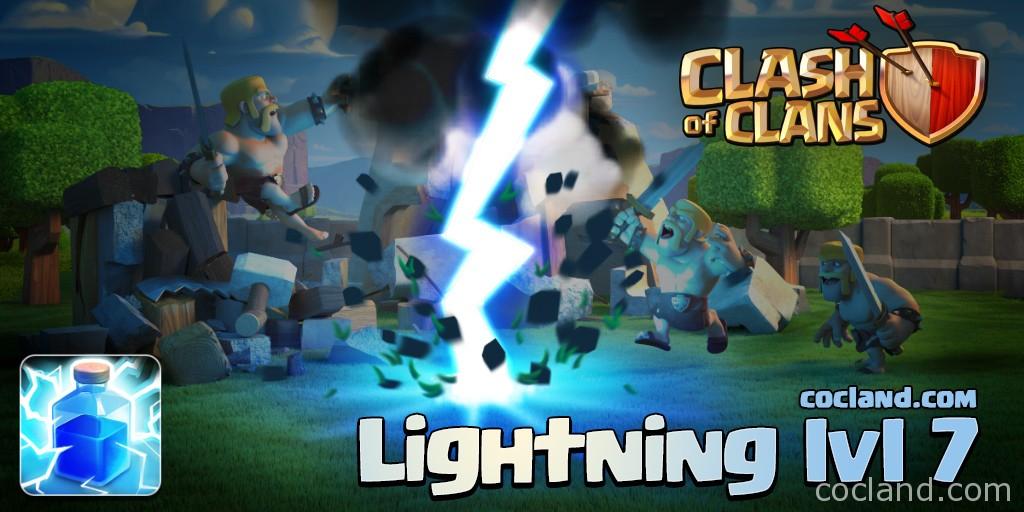 Lightning Spell Level 7