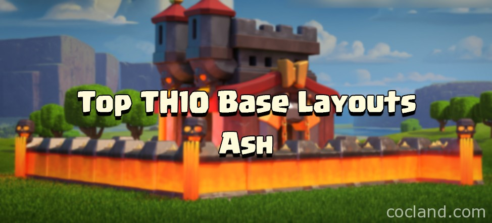 Town hall 10 trophy war bases