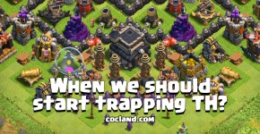 Trapping Town Hall in Clash of Clans