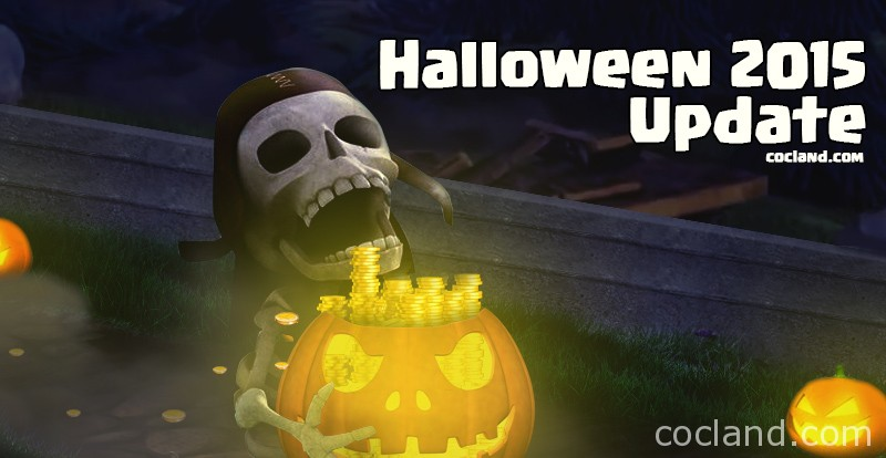ClashCon Halloween Update 2015