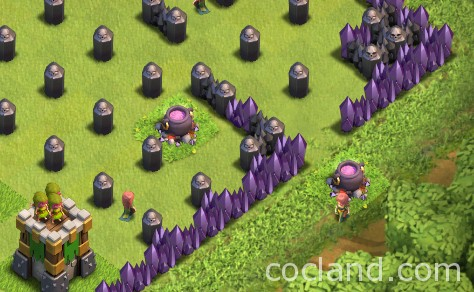 Halloween Cauldron | Clash of Clans Land